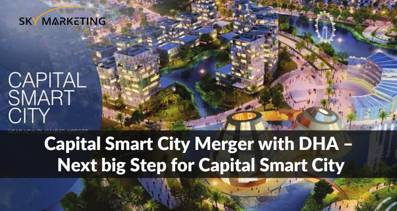 Capital Smart City merger with DHA