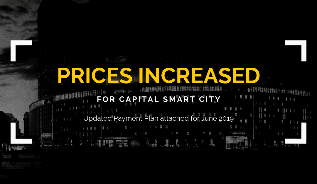 Capital Smart City Islamabad prices payment plan