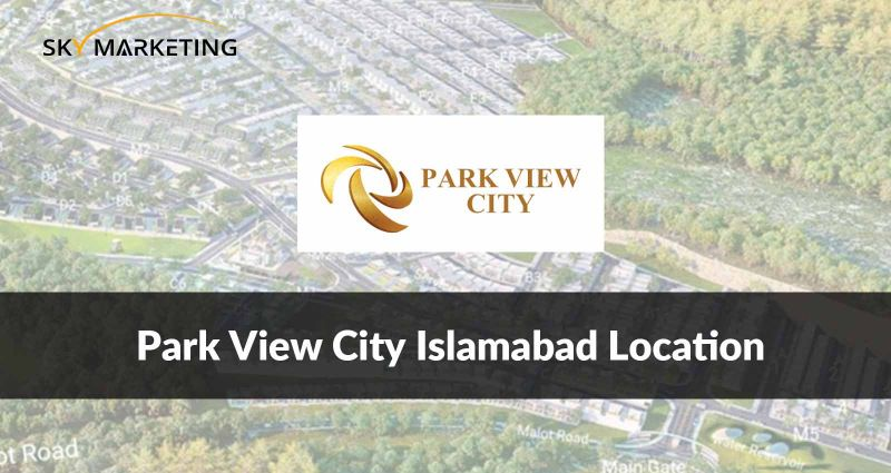Park View City Islamabad Location