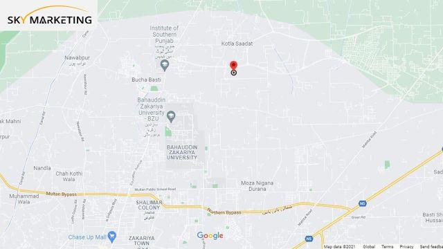 DHA Multan Location