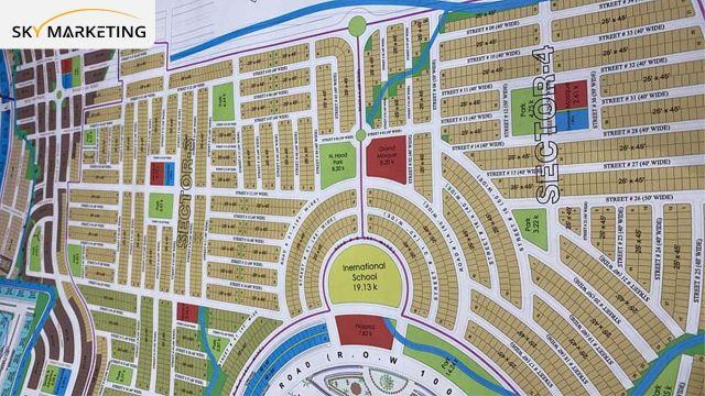 Blue World City Awami Villas Sector