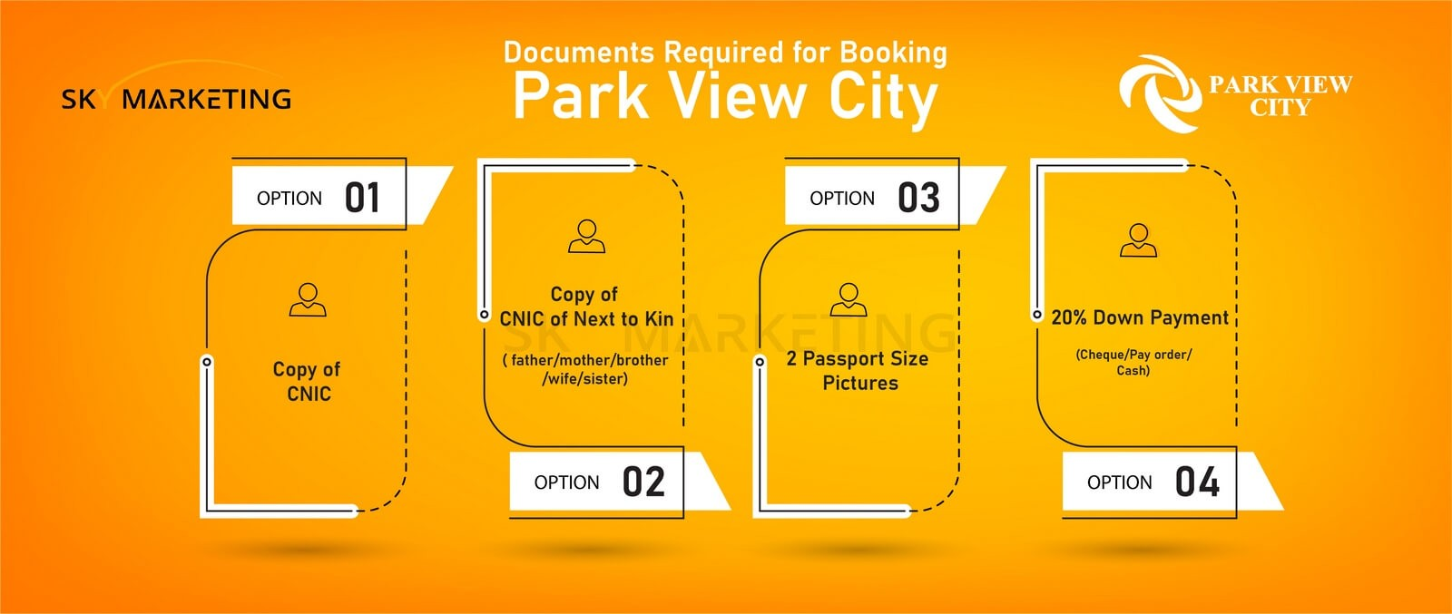 Park View City Booking Procedure