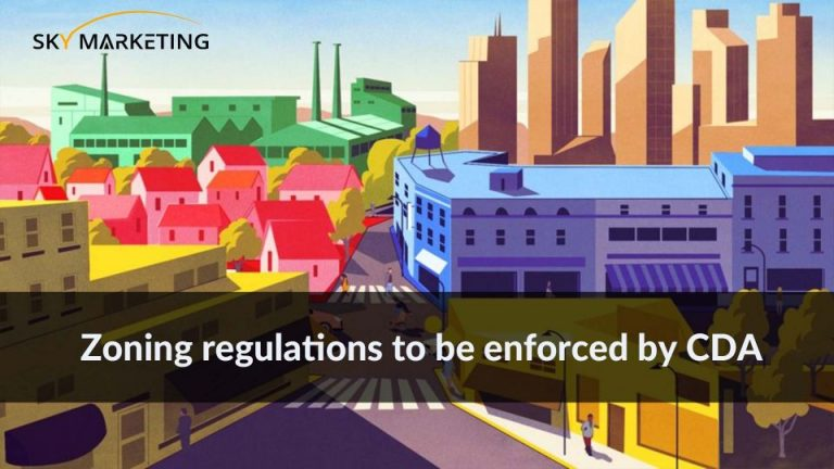 Zoning regulations to be enforced by CDA