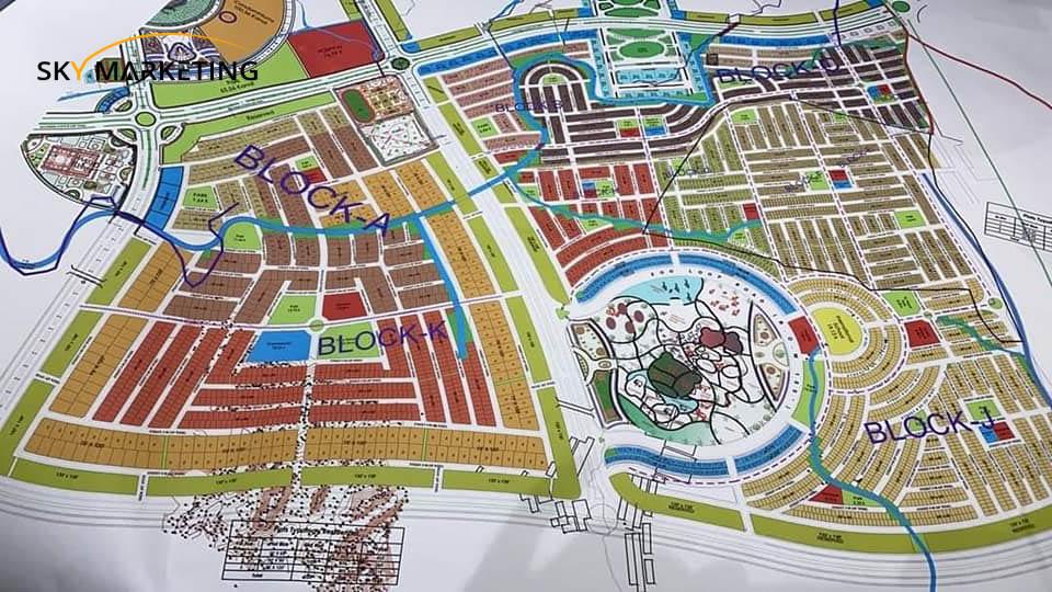 Blue World City Awmi Villas Block