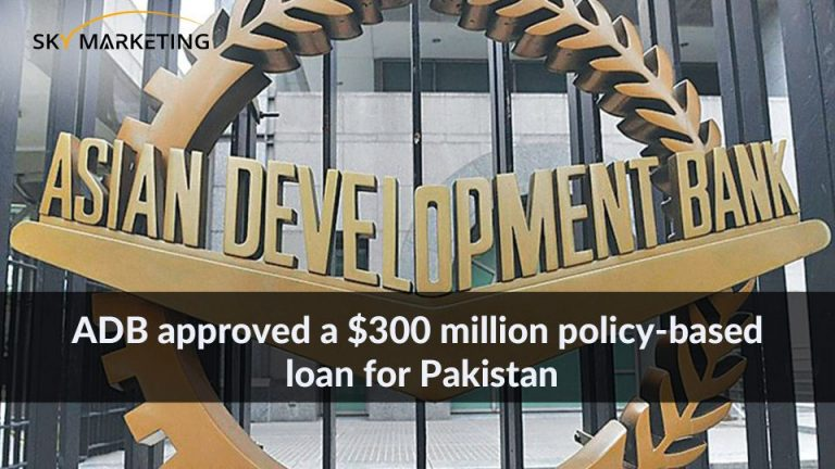 ADB approved a $300 million policy-based loan for Pakistan