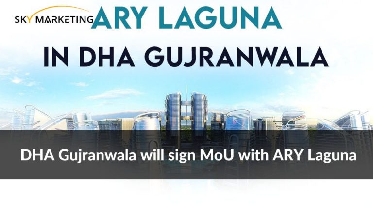 DHA Gujranwala will sign MoU with ARY Laguna