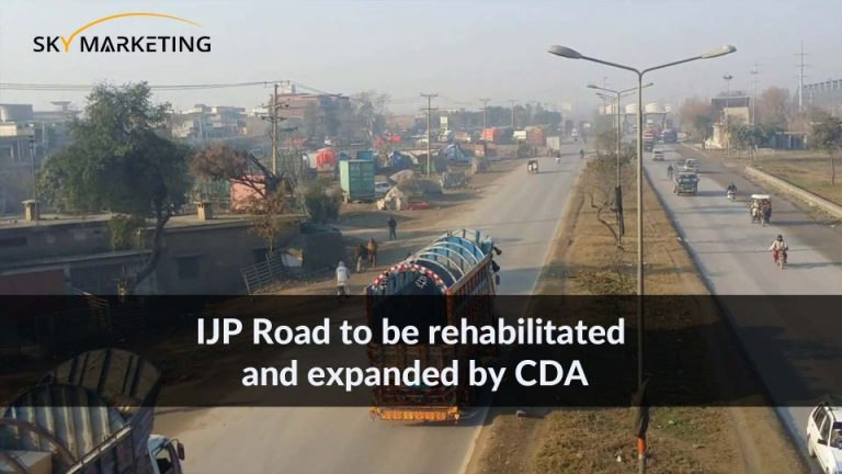 IJP Road to be rehabilitated and expanded by CDA