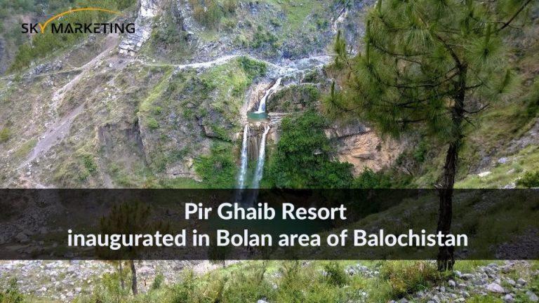 Pir Ghaib Resort inaugurated in Bolan area of Balochistan
