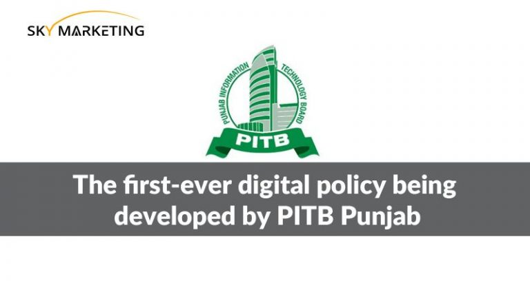 The first-ever digital policy being developed by PITB Punjab