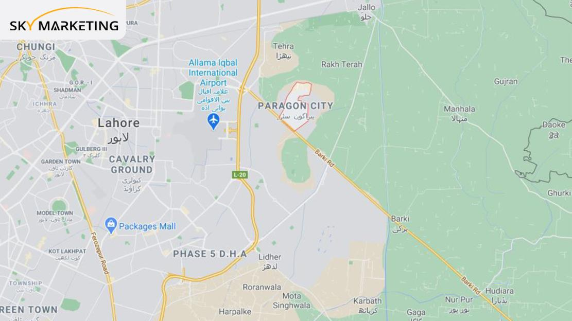 Paragon City Lahore Access Piont
