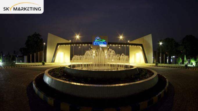 Etihad Town Lahore Infrastructure