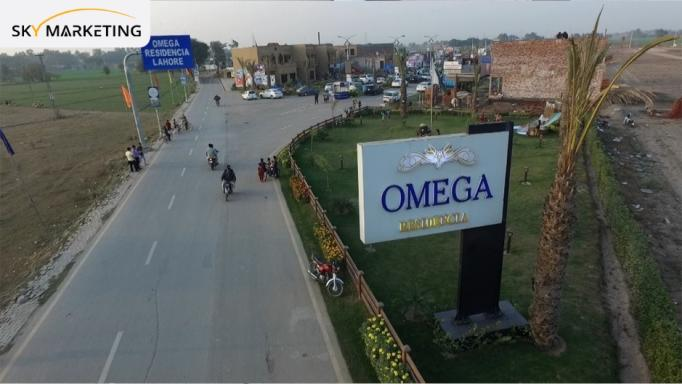 Omega Residencia lahore project Details