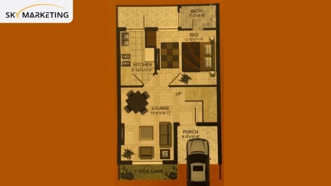 Omega Residencia Floor Plan