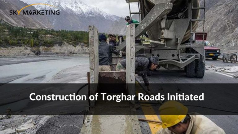 Construction of Torghar Roads Initiated
