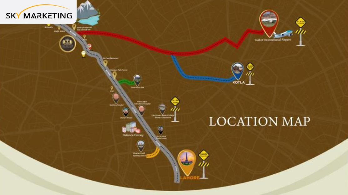 Grand City Kharian Near By Places
