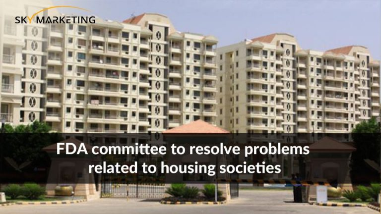 FDA committee to resolve problems related to housing societies