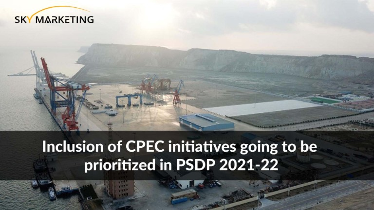 Inclusion of CPEC initiatives going to be prioritized in PSDP 2021-22