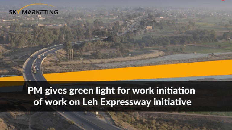 PM gives green light for work initiation of work on Leh Expressway initiative