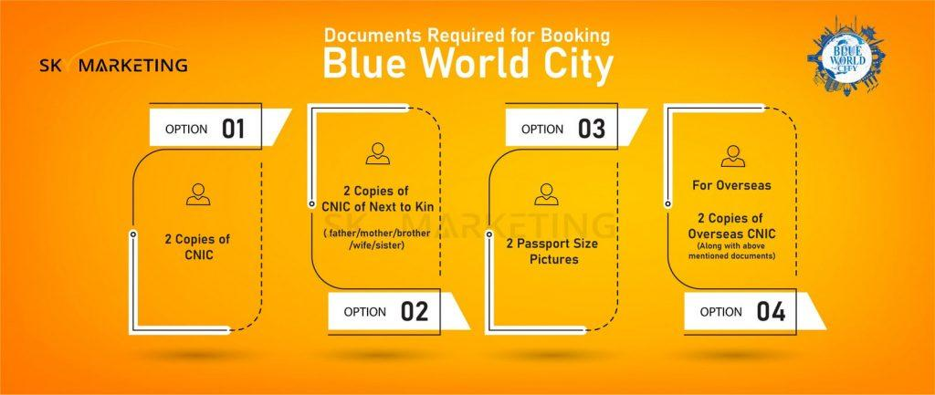 Blue World City Booking Procedure