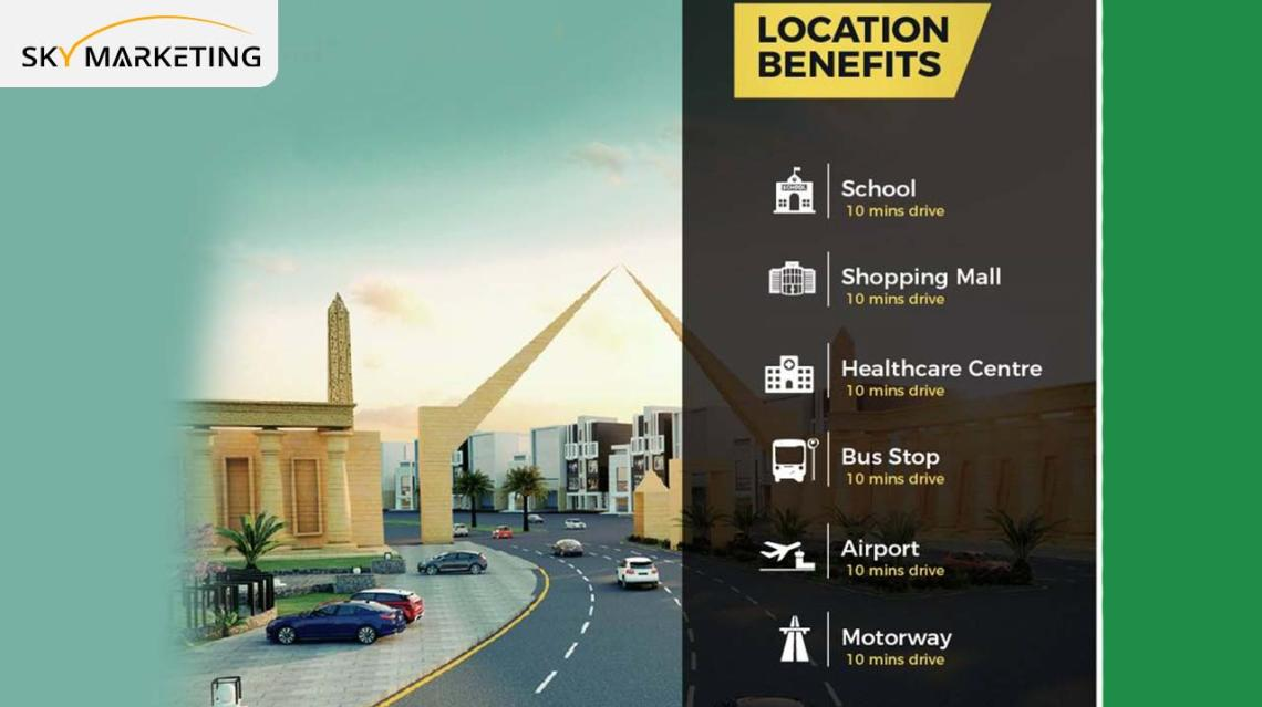 Al Noor Orchard Lahore Location Benifits