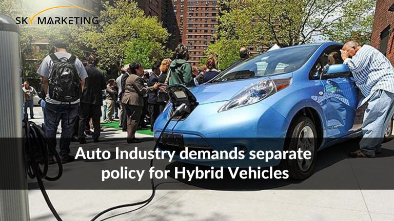 Auto Industry demands separate policy for Hybrid Vehicles