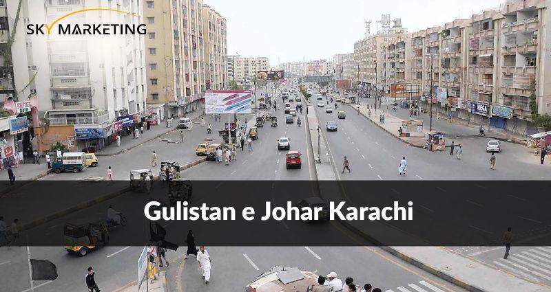 Gulistan e Johar Karachi