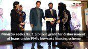 Ministry seeks Rs. 1.5 billion grant for disbursement of loans under PM's low-cost housing scheme