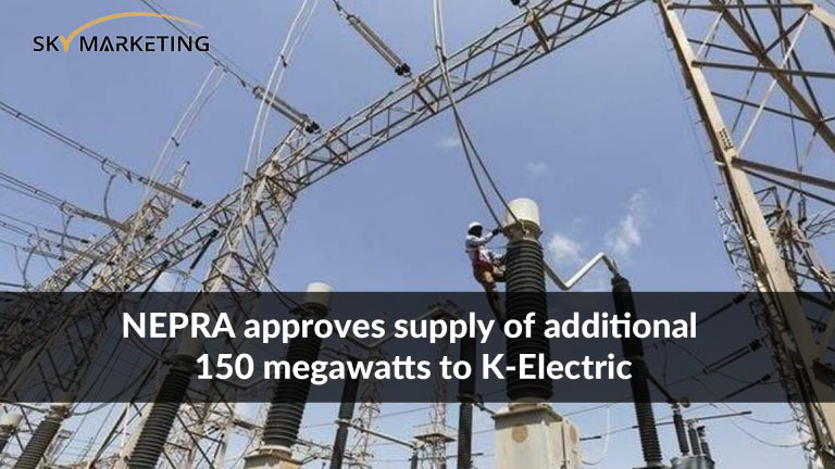 NEPRA approves supply of additional 150 megawatts to K-Electric
