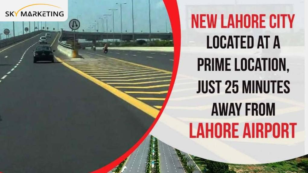 New Lahore Cit Location near Airtport