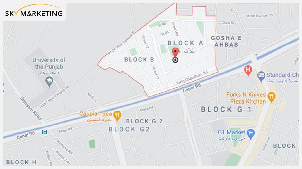 PCSIR Housing Society Lahore