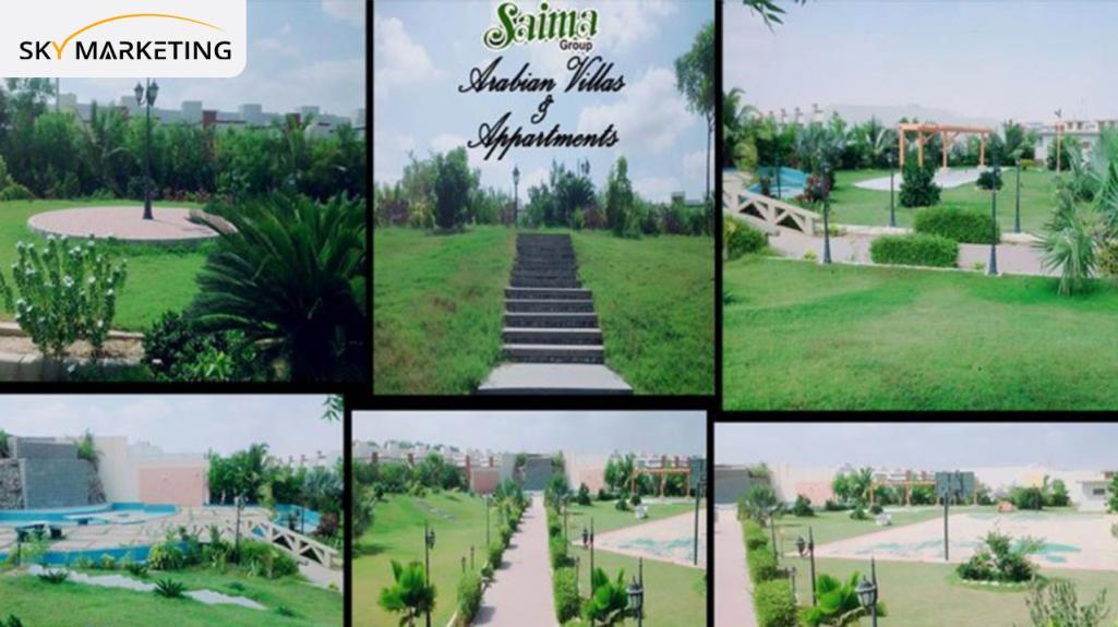 Saima Arabian Villas Development
