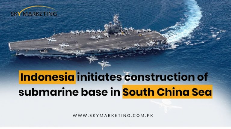Indonesia initiates construction of submarine base in South China Sea