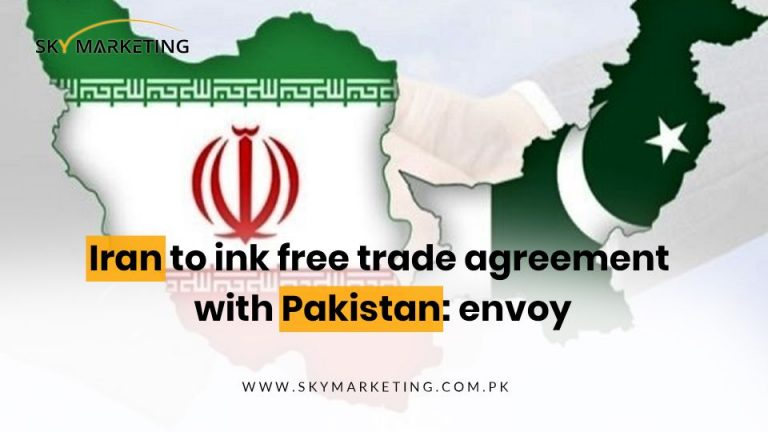 Iran to ink free trade agreement with Pakistan; envoy