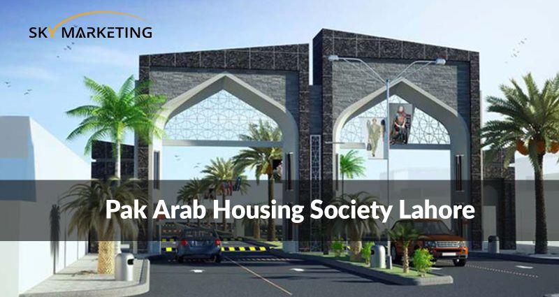 Pak Arab Housing society Lahore