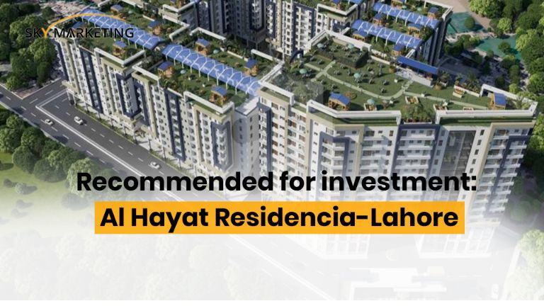 Recommended for investment; Al Hayat Residencia-Lahore