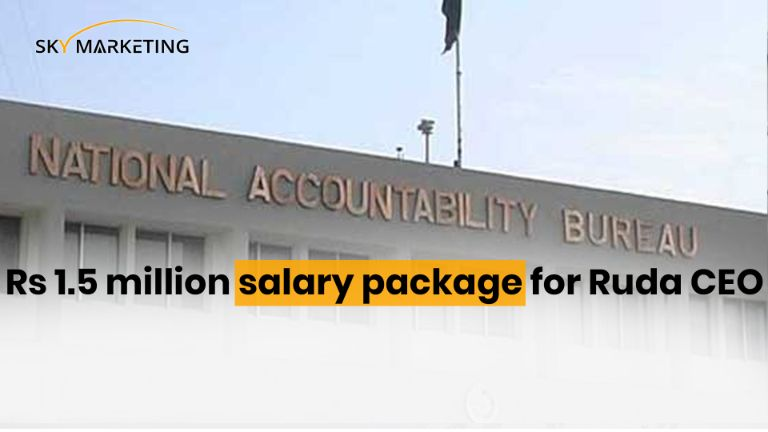 Rs 1.5 million salary package for Ruda CEO