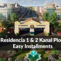 Taj Residencia 1 & 2 Kanal Plots on Easy Installments