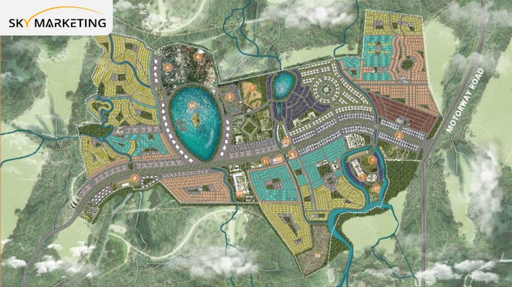 Discovery Gardens Islamabad Master Plan