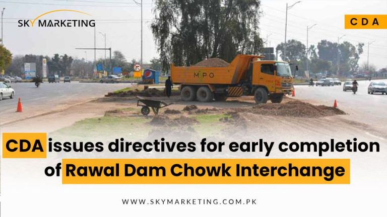 CDA-issues-directives-for-early-completion-of-Rawal-Dam-Chowk-Interchange