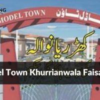 Model Town Khurrianwala Faisalabad