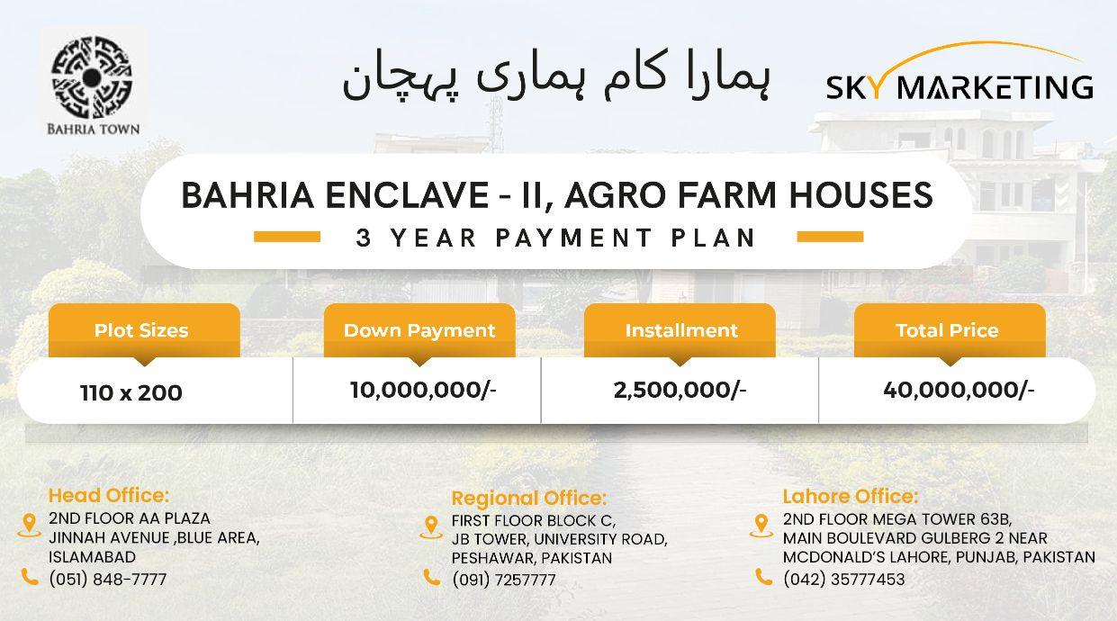 bahria-enclave-II-agro-farm-houses