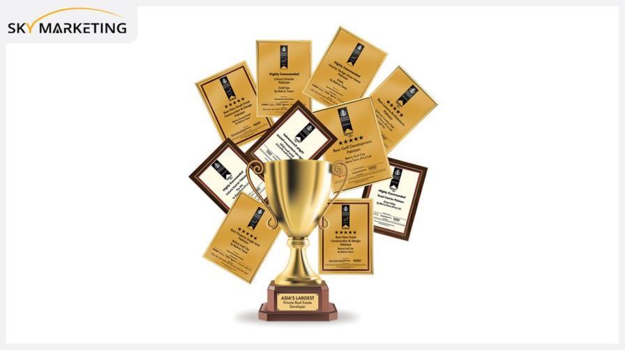 Awards of Bahria Town