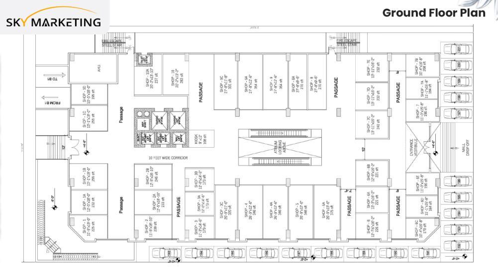 Florence Galleria Floor Plan Ground Floor