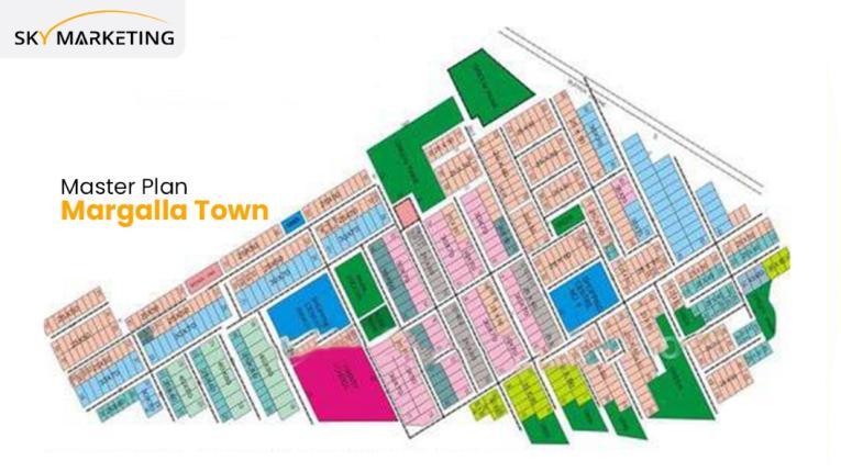 Margalla Town IslamabadMaster Plan Phase 1