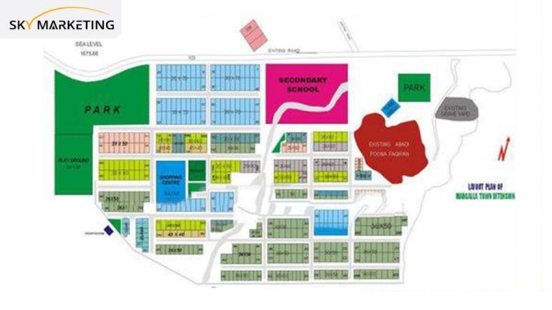 Margalla Town Islamabad Master Plan Phase 2