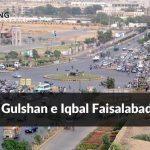 Gulshan e Iqbal Faisalabad