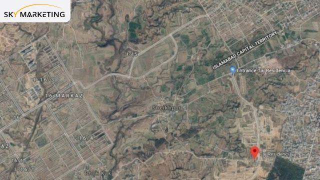 Taj Residencia Location