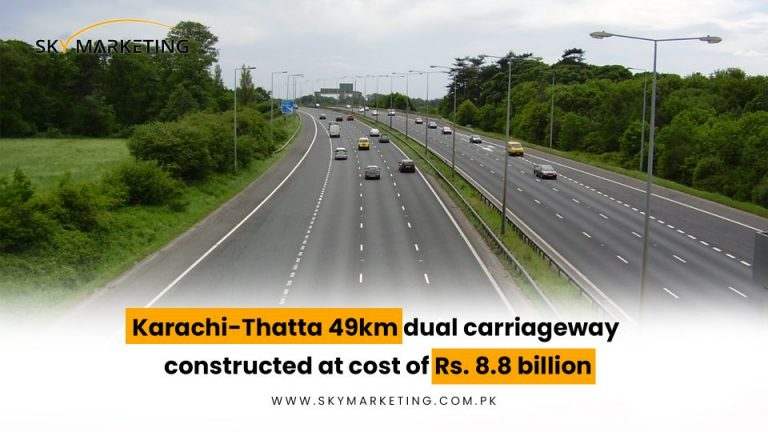 Karachi-Thatta-49km-dual-carriageway-constructed-at-cost-of-Rs.-8.8-billion