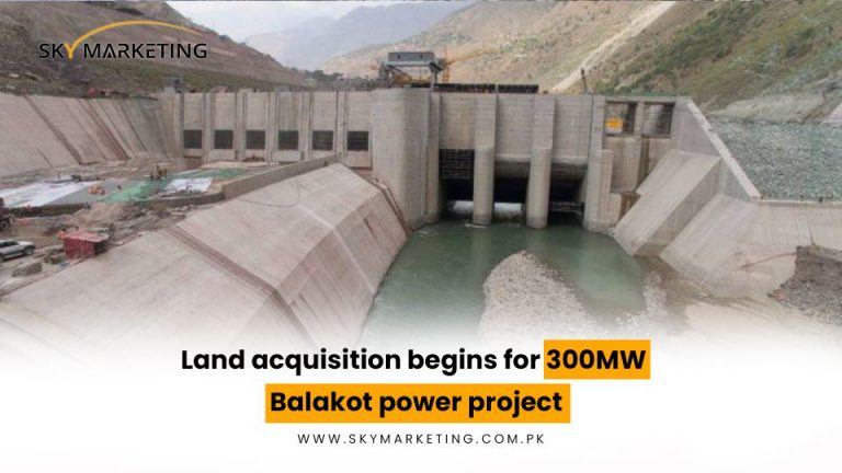 Land-acquisition-begins-for-300MW-Balakot-power-project