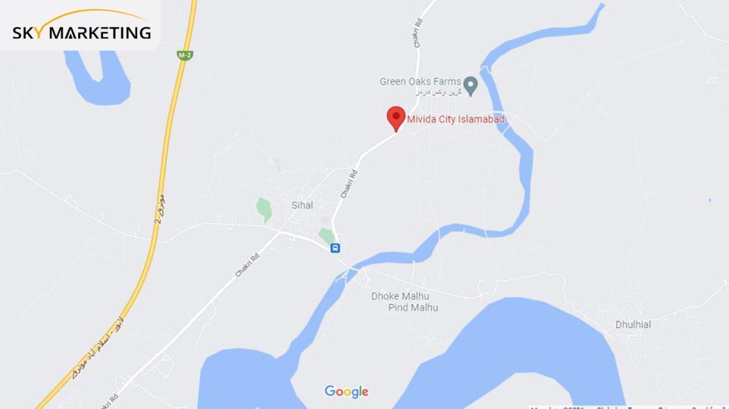Mivida City Islamabad Location